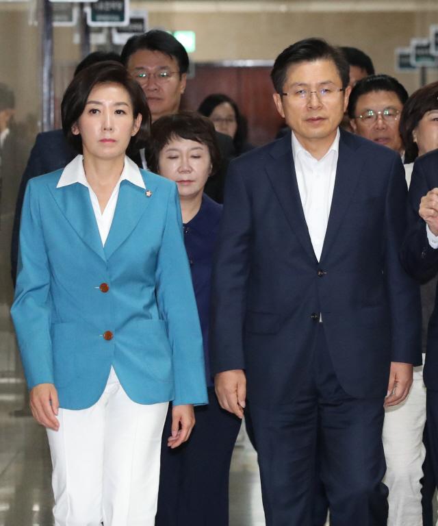 나경원 '정개특위 표결, 긴급안건조정 신청으로 막을 것'