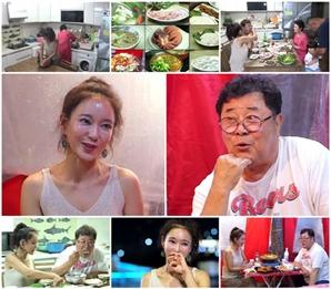 '모던 패밀리' 곽진영, 백일섭에 '제철 요리' 집밥 대접..'효심' 가득한 저녁