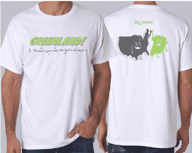 '그린란드=미국땅'...美 공화당, 티셔츠 판매 논란