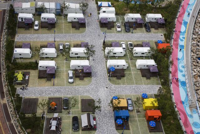 [토요워치-캠핑카]오토캠핑장 하루 2만원, 알뜰 캠핑족 핫플레이스