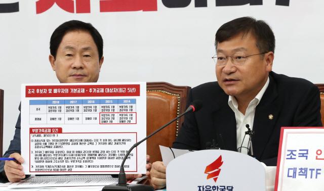 '8,000만원 버는 부모를 부양가족에…조국 妻 1,800만원 부당공제'