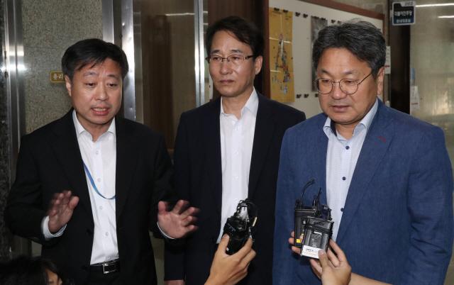 이인영 '조국 청문회 못하면 국민·언론과의 대화 27일 추진'