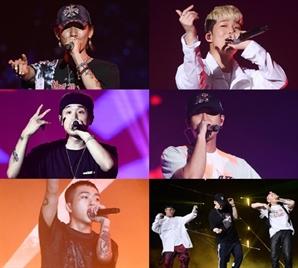 '2019 케이월드 페스타' K-힙합 콘서트 성료, 폭발적 에너지로 흥 돋웠다