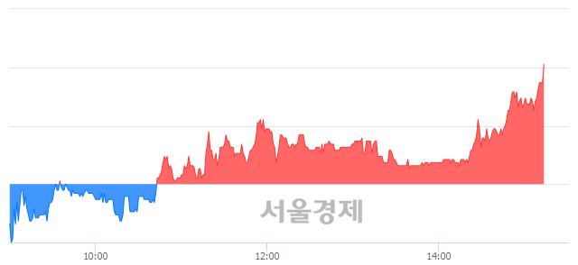 코현성바이탈, 전일 대비 7.63% 상승.. 일일회전율은 3.61% 기록