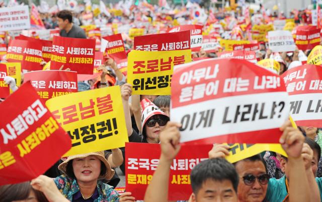 황교안 '가짜·적폐 정권 놔두면 안돼, 대한민국 살려야'