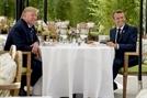 트럼프·마크롱, G7 개막 전 깜짝 오찬…무역갈등 해소 모색