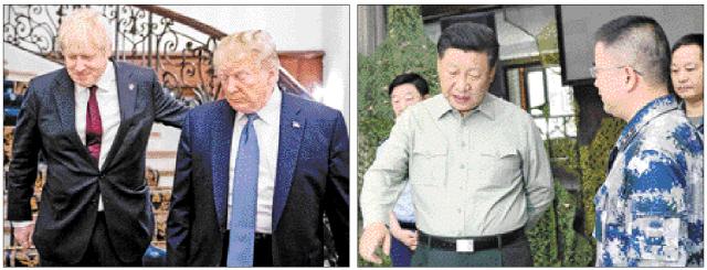 트럼프 '시진핑=적'…무역전쟁 치킨게임