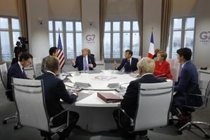 """한 자리에 모인 G7...""""러시아 합류는 시기상조"""""""