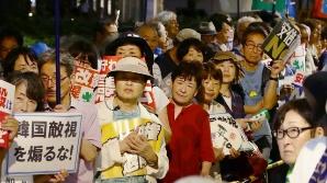 한일 관계 악화 속 日 아베 지지율 58% '상승'…지소미아 영향