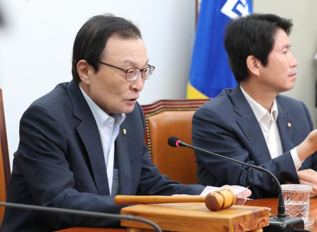 """이해찬 """"한국당 무책임한 행동 계속되면 단독으로라도 청문회 감행"""""""