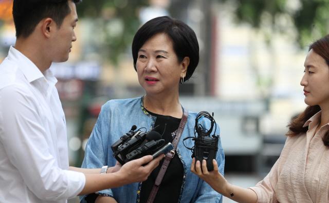 '투기 의혹' 손혜원, 첫 공판서 혐의 부인…'사법부가 진실 밝힐 것'