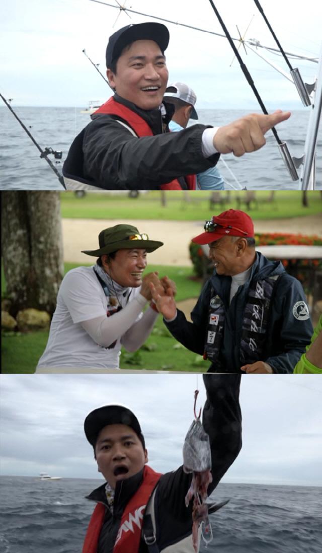 '도시어부' 조재윤, 코스타리카 합류..'먼저 잡아야 돼'