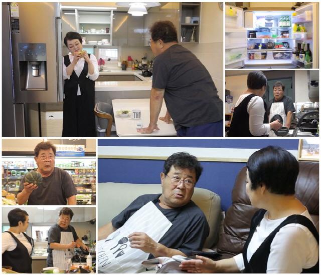 '모던 패밀리' 백일섭, '빅마마' 이혜정과 '집밥 만들기' 도전 중 부부클리닉급 토크
