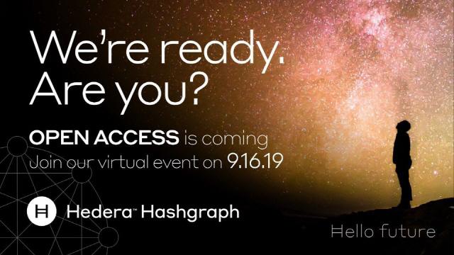 헤데라 해시그래프, 9월 16일 네트워크 개방한다