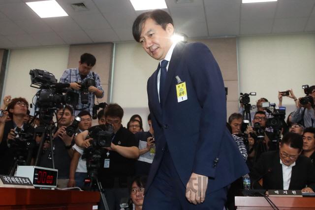금태섭 '검찰 개혁 정책' 비판에 조국 '당시 합의 가능한 것만들로 한 것'