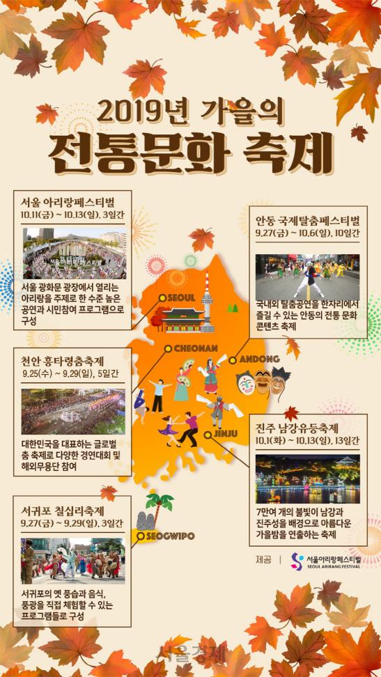 올 가을 전통문화축제로 물들다