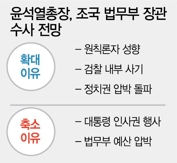 [조국 임명 감행]부인 소환 초읽기…조국은 갈무리냐 수사냐 의견 분분