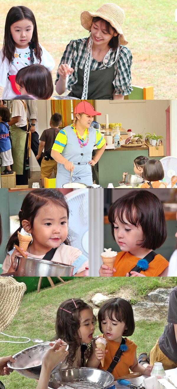 '리틀 포레스트' 박나래X정소민, 수제 아이스크림 맛집 오픈..'인기 대폭발'