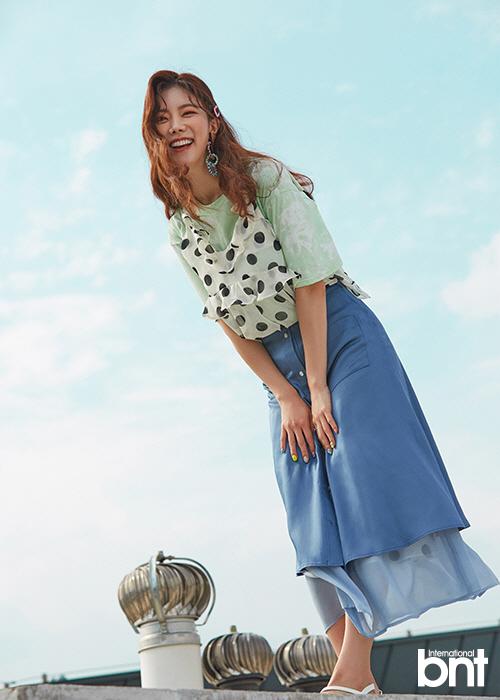 '미스트롯' 김나희, '출연자들과 모두 친해, 홍자와 특히 더 친해져'