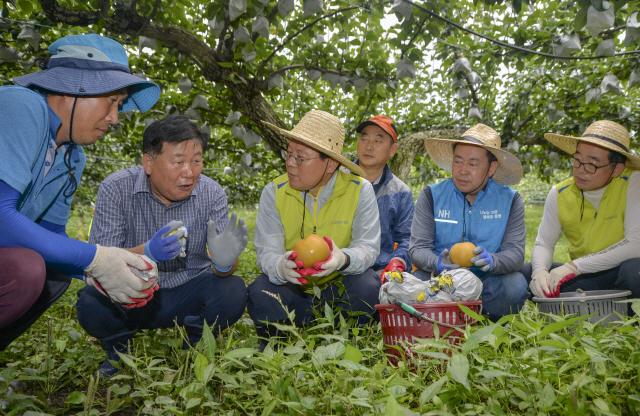 태풍 피해농가 지원 나선 김광수 회장