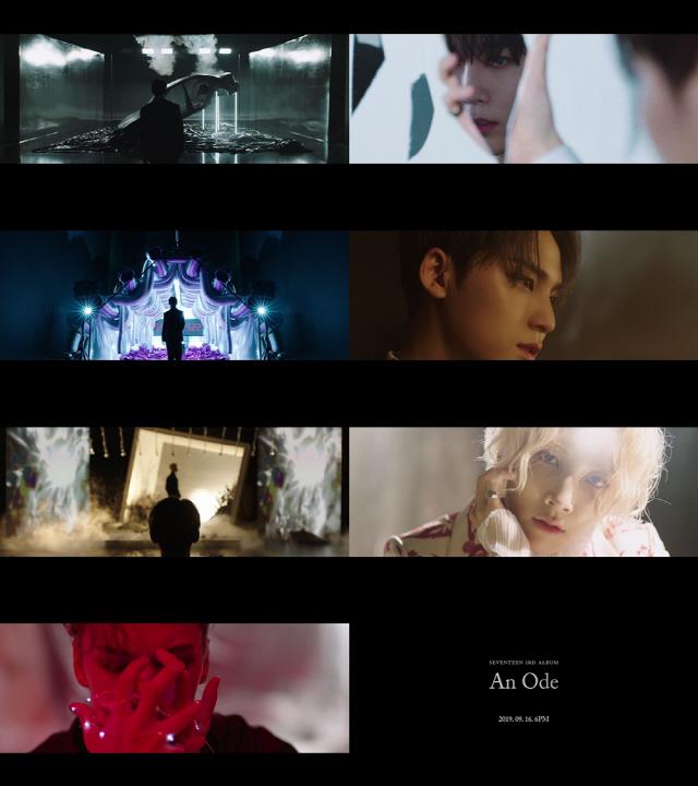 세븐틴, 타이틀곡 '독:Fear' MV 티저 최초 공개..'강렬하게 컴백'