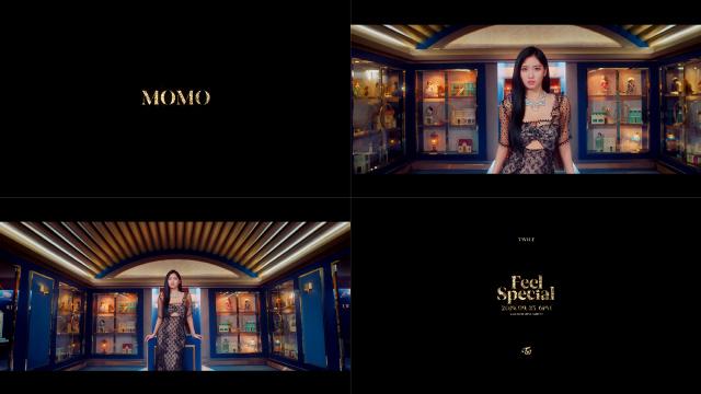 트와이스 모모, 신곡 'Feel Special' 컴백 개별 티저 세 번째 주자..'치명적인 매력'