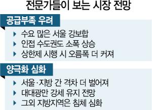 '공급억제 정책이 없던 수요도 만들어, 서울 강보합...상한제 시행땐 더 뛸수도'