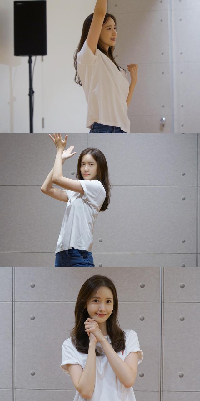 '엑시트' 임윤아, 900만 돌파 공약 이행..유려한 춤 선+해사한 미소