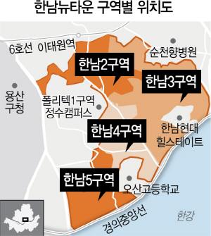 대림 한남3구역 단독 입찰…재개발 시공권 경쟁 향방은