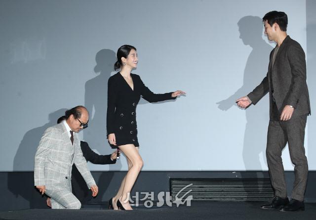 박해수-서예지-김상호, 화기애애 (양자물리학 언론시사회)