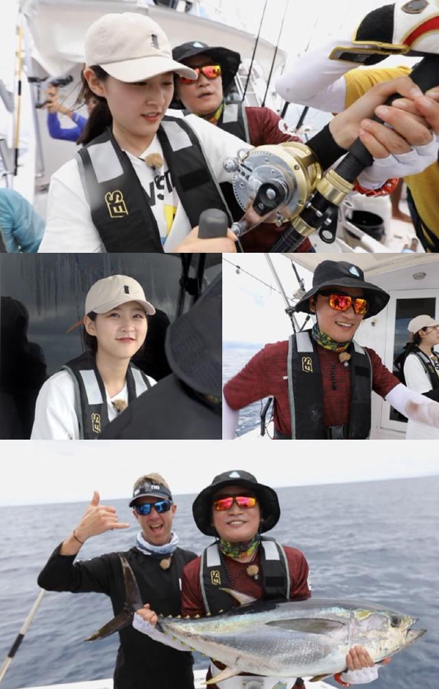 '도시어부' 김새론, 빅튜나 낚시 대결..코스타리카에서의 마지막 도전