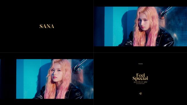 트와이스 사나, 신곡 'Feel Special' 티저 공개..비현실적 인형 비주얼