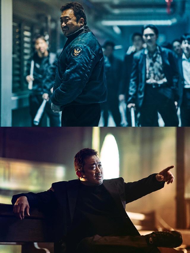 '나쁜 녀석들: 더 무비' 마동석, 유머와 액션 최강..3년 연속 추석 극장가 강타