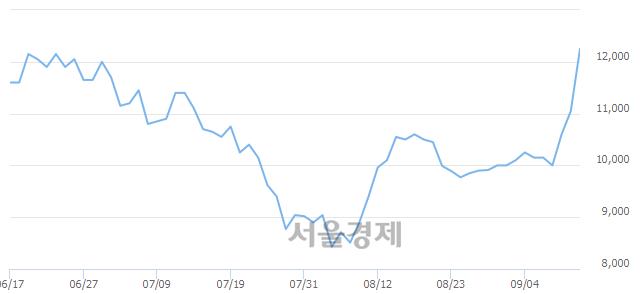 유성신양회우, 전일 대비 9.05% 상승.. 일일회전율은 13.70% 기록