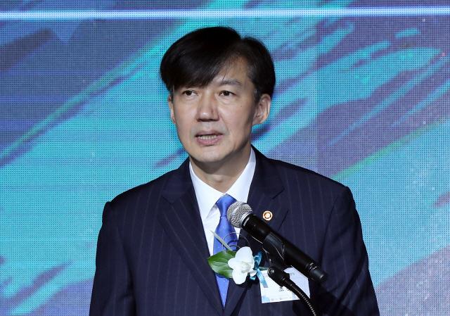 취임 후 첫 국회 방문…조국 민주·정의당 예방
