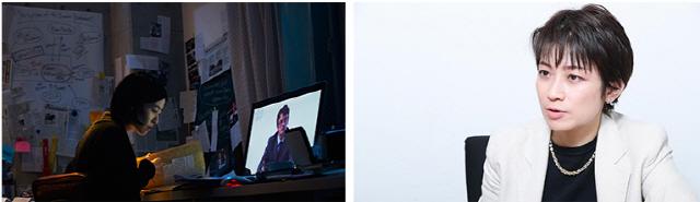 '신문기자' 모치즈키 이소코 기자에 시선 집중...'일본 언론의 상징'