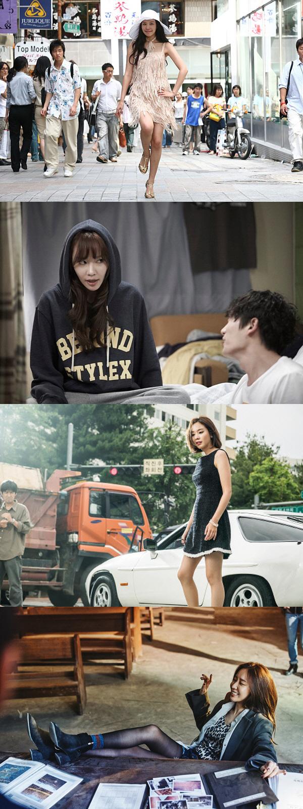 '나쁜 녀석들: 더 무비' 김아중, 범죄 오락 액션까지 섭렵..장르 변화 성공적