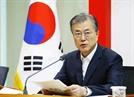 文 대통령 지지율, 취임 후 최저치…조국 반대 55.5%(속보)