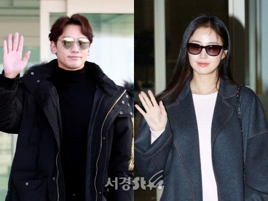 김태희♥비, 둘째 딸 품에 안아..'산모와 아기 모두 건강'