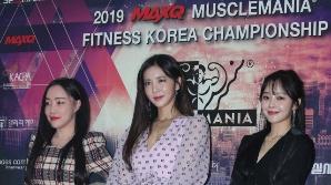 낸시랭-이연화-최설화, '머슬여제' 주역들 (2019 맥스큐 머슬마니아)