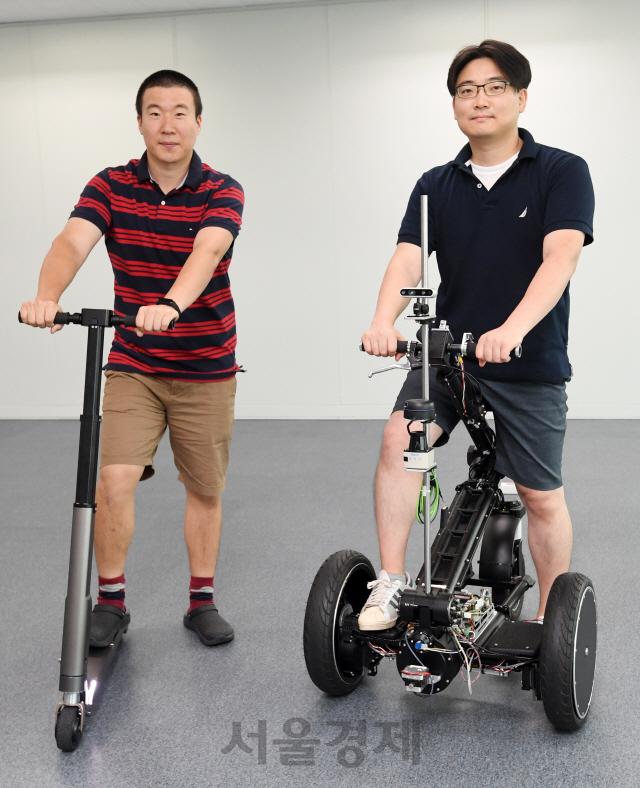 [로봇이 간다]실내선 2바퀴, 실외선 3바퀴 변신 모빌리티
