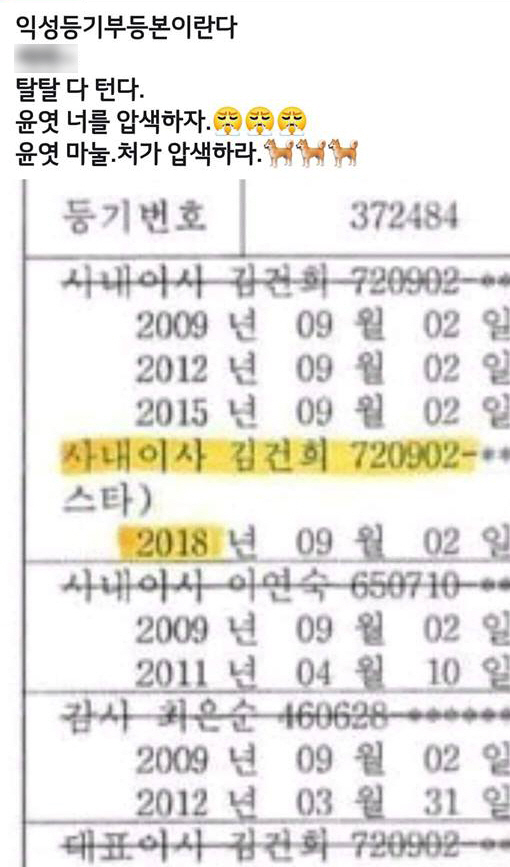 [단독] 윤석열 익성 연루·수사 무마설에 檢 '황당…허위사실 유포 수사'