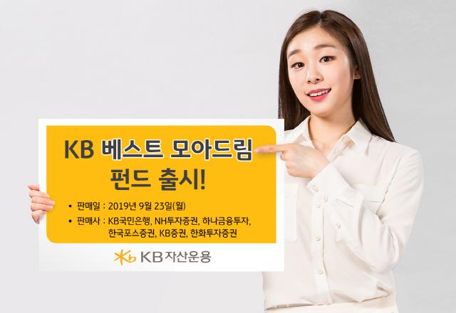 KB자산운용, KB베스트 모아드림 펀드 출시