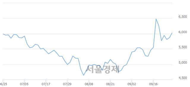 코이지바이오, 3.07% 오르며 체결강도 강세로 반전(139%)