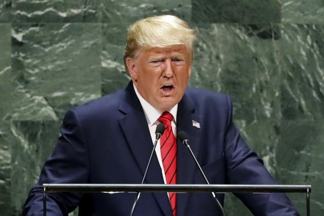 한미 방위비협상 직전 압박 나선 트럼프 '엄청난 방위비 부담 공정 분담해야'
