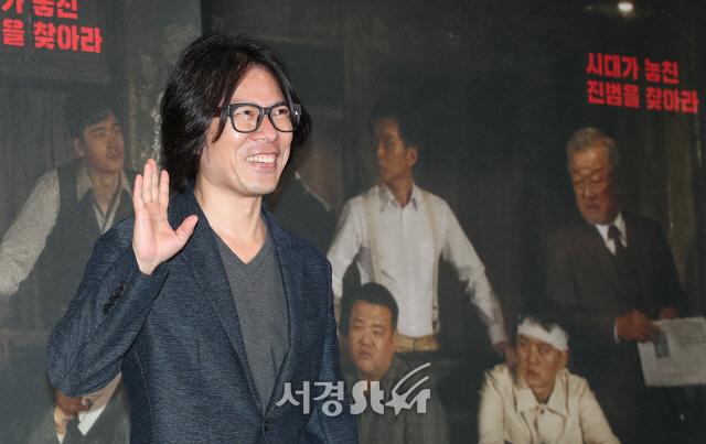 고명성 감독, 훈훈한 손인사 (열두 번째 용의자 언론시사회)