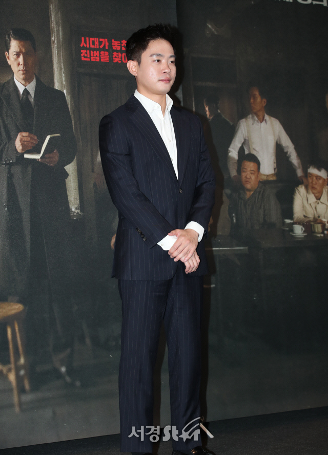 김동영, 훤칠한 외모 (열두 번째 용의자 언론시사회)