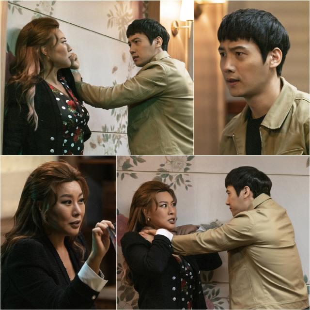 '황금정원' 이상우, 정영주에게 분노 터트리는 모습포착..긴장감 UP