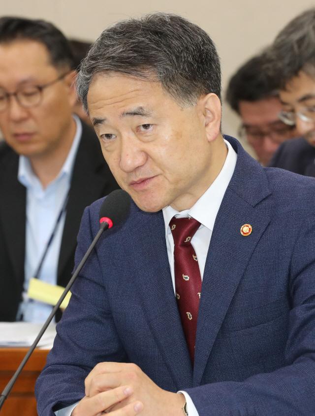 [2019 국정감사] 적립금 고갈 논란, 박능후 '국민연금 개혁 국회에 달렸다'