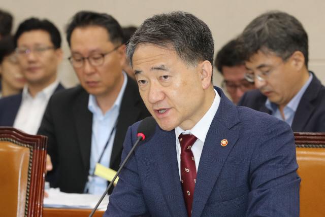 박능후 '국민연금 개편안 내놓기 힘든 상황'